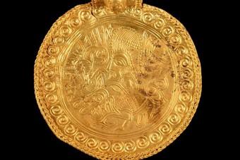 1500 éves aranykincset fedezett fel egy amatőr