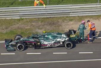 Vettel lerobbanása miatt állt az F1