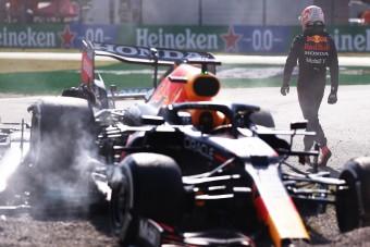 F1: Verstappen le se tojta Hamiltont