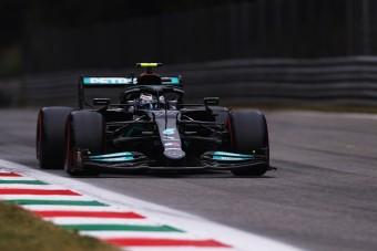 F1: Váratlan Bottas-siker az olasz időmérőn