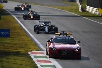 F1: Bottas nyert, Hamilton betlizett a biztonsági autós sprinten
