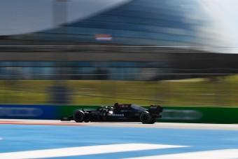 F1: Bottas nyitott az élen Oroszországban
