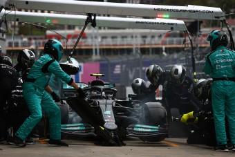 F1: Fokozódnak a problémák a Mercedesnél