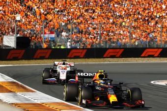 """F1: """"Kockázatos volt minden előzés"""""""