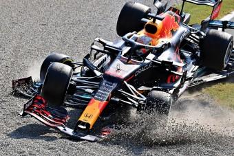 F1: Drámai videón a Hamilton fejét eltaláló Red Bull