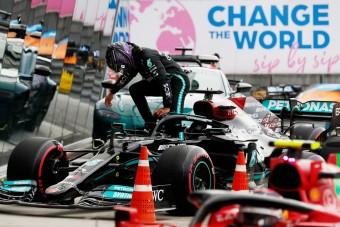 F1: Csalódott magában Hamilton