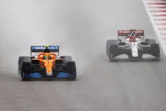 F1: Norris összeomlott, miután elbukta a győzelmet