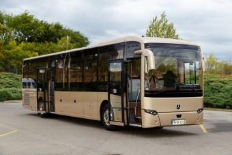 Megérkezett a legújabb magyar autóbusz
