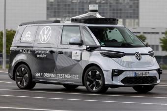 Sofőr sem kell a VW villanyfurgonjához