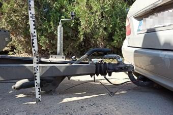 Az M5-ös aszfaltját felszántó autót fogtak a rendőrök