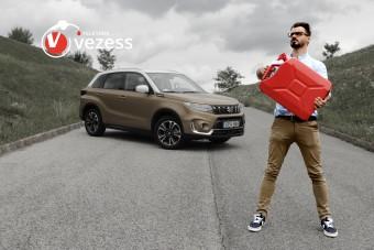 Mennyit fogyaszt a magyarok kedvenc autója? - Suzuki Vitara a Teletankban!
