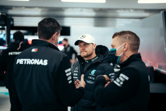 F1: Gúnyt űzött a Mercedesből Bottas