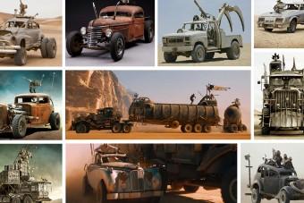 Eladó 13 pokoli jármű a legutóbbi Mad Max-moziból