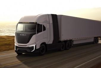 Bosch üzemanyagcellákkal készülnek a Nikola nyerges vontatói