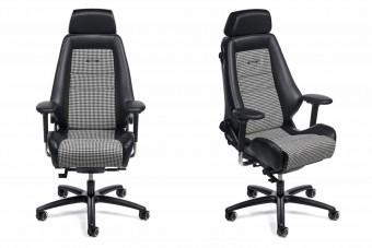 A nyolcvanas évek sportautóit idézik meg ezek a Recaro irodai székek