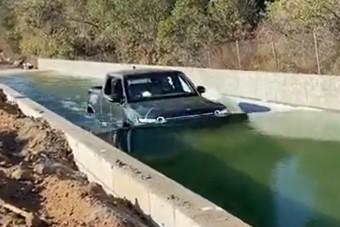 Vízre küldtek egy villanyautót, ez az eredmény