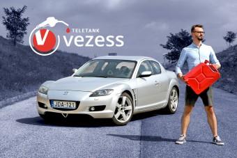 Benzin-, olaj- és pénztemető élményautó - Mazda RX-8 a Teletankban!