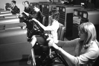 Egészen mást jelentett az autószimulátor fogalma 50 éve