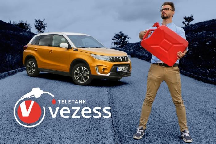 Mennyit fogyaszt a magyarok kedvenc autója? – Suzuki Vitara a Teletankban!