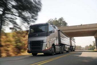 Tükrök nélkül hasít a jövő Volvo kamionja