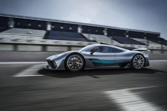 Jövőre kezdhetik el gyártani a Mercedes hipersportautóját