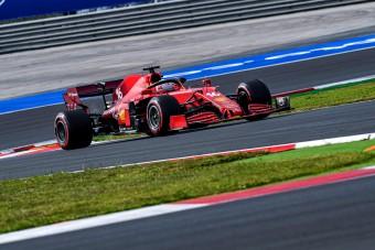 F1: Leclerc nagyot szakítana a Ferrarinak