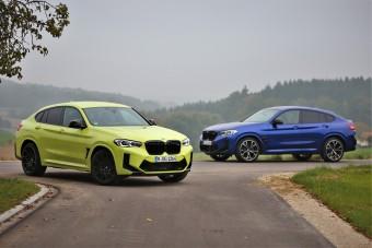 Túl jó technika. Mentünk egy kört az új BMW X4 M-mel!