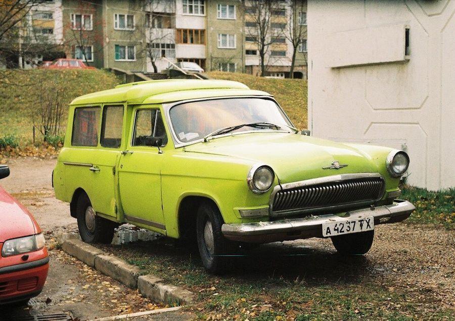 Barkasba olvadt egy Volga valahol Oroszországban 2