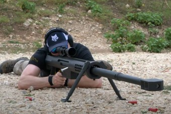 Négy kilométerről is szétrobbantja a célpontot ez a brutális puska