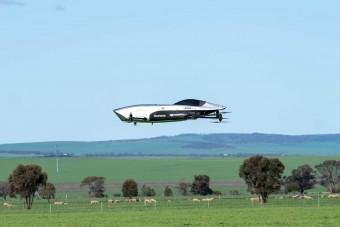 Már párban repülnek a jövő apró személyszállító drónjai
