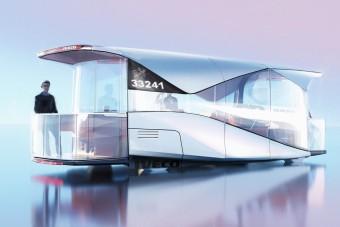 Ilyen lehet a jövő autóbusza