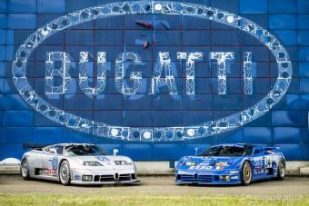 Így ünnepelték a Bugatti EB110 30. évfordulóját