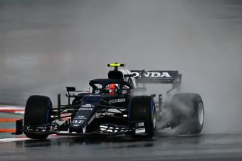 F1: Megjött az eső az időmérő előtt Isztambulba