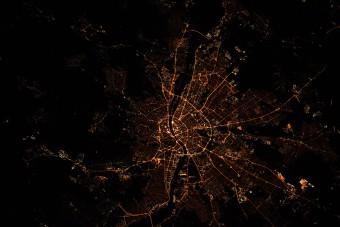 Zseniális fotó készült Budapestről az űrből