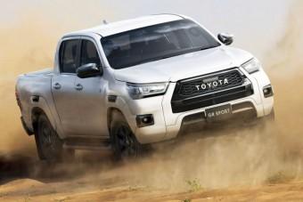 Sportverziót kínálnak a Toyota Hiluxból