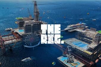 Vidámparkot építenek egy tengeri olajfúró toronyra