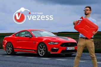 Megeszi a világ összes benzinjét? - Ford Mustang Mach 1 a Teletankban!