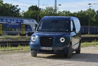 Ez lesz a londoni taxiból, ha kokszol