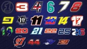 F1: Egy képen a rajtszámok