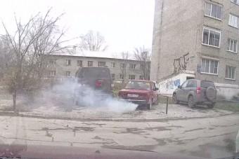 Óvakodj a parkoló ladástól