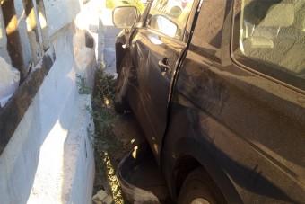 Házba csapódott egy autó Szabolcsban