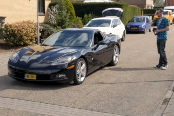 Távirányítós autót csinált a Corvette-ből
