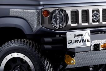 Defender-klónt építettek a Suzuki Jimnyből